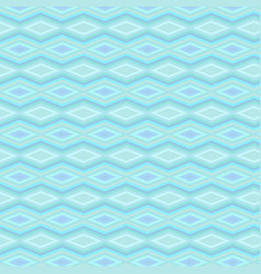 abstract blue monochromatic geometrical design vector image