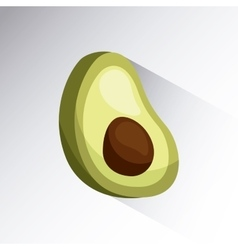 Avocado icon image vector