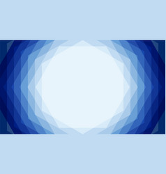 Blue stack hexagon abstract background with copy vector