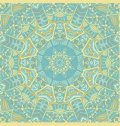cute seamless abstract tiled pattern web vector image