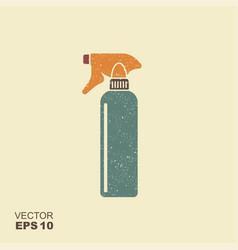 hairdresser pistol spray bottle flat icon vector image