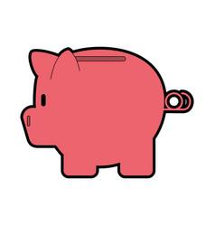 piggy bank icon image vector image