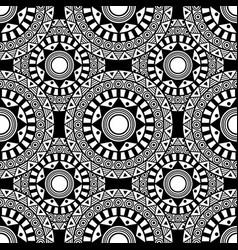 Siamless pattern sentagle isolate vector