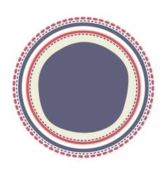 Usa button design vector