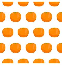 Citrus orange seamless pattern vector image