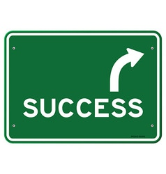 Success Sign vector image vector image