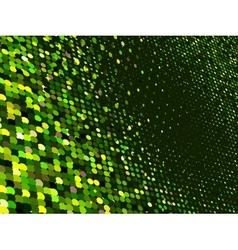 Abstract dot green mosaic background EPS 8 vector image vector image