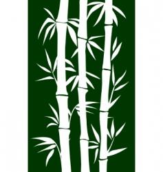 bamboo tree vector image