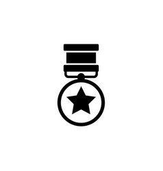 medal of valor medal of honor war military award vector image