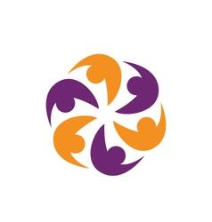 Adoption Care Logo vector image