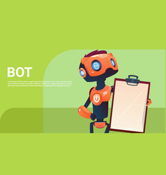 Chat bot robot virtual assistance element of vector