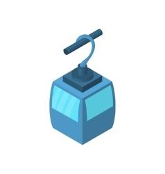 Funicular icon cartoon style vector