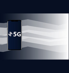 Worlds fastest mobile internet 5g vector