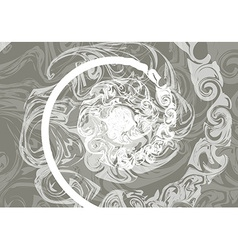 Marble texture with effect wet stone vector image vector image