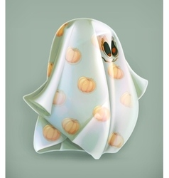 Cheerful ghost icon vector image