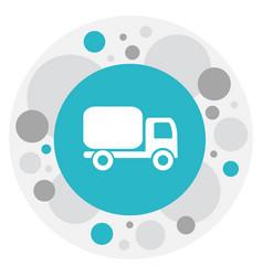 Of shipment symbol on shipping vector