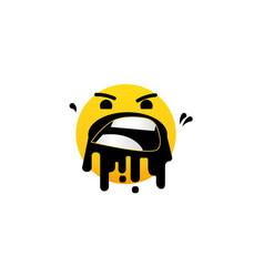 Bad experience feedback unhappy client vector