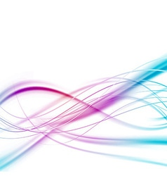 Bright abstract speed lines background vector