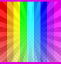 bright rays overlay vector image