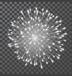 fireworks festival white firework illustration vector image