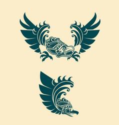 Garuda balinese style vector