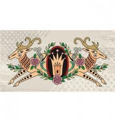 hunter logo vector image
