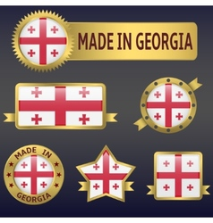 Made in Georgia vector