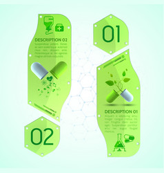 pills vertical banners set vector image