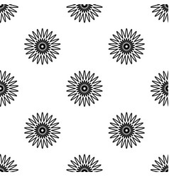 Spring floral seamless pattern on white background vector