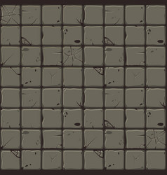 texture of stone tiles seamless background stone vector image