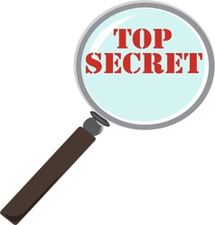 Top Secret vector