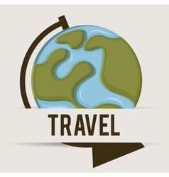 travel design vector image