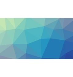 Abstract blue gradient lowploly of many vector image