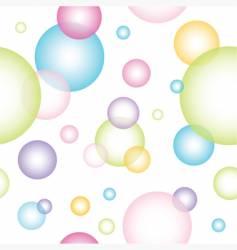 bublles vector image