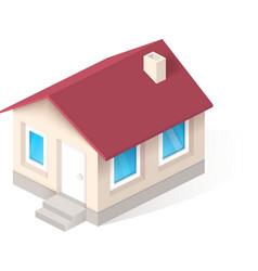 House isometric icon vector image