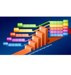 3d infographics vector
