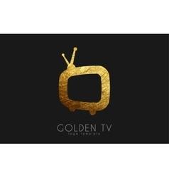 Tv logo creative tv logo design media design vector