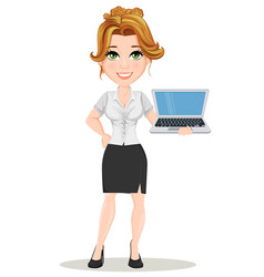 businesswoman 08 vector image