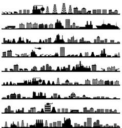 City landscape5 vector image vector image