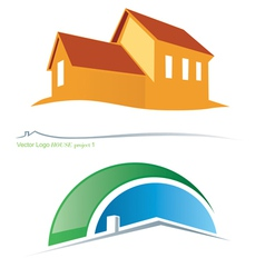 house project vector image