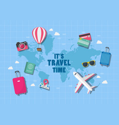 It is travel time vector