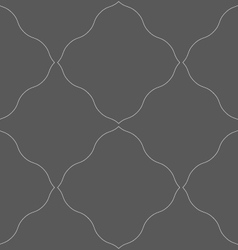 Monochrome pattern with gray wavy net vector