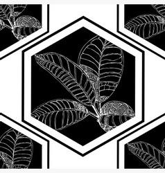 Seamless flowerlogo pattern 2 vector