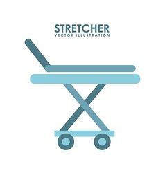 stretcher design vector image