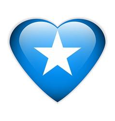 Somalia flag button vector image