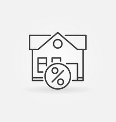 leasing property icon vector image