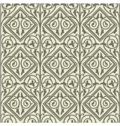 vine pattern vector image vector image