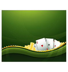 casino cambling background elements vector image