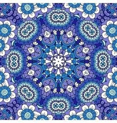 full frame background lovely floral patterns vector image