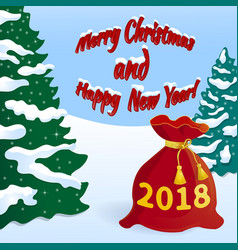 new year s eve 2018 -02 vector image
